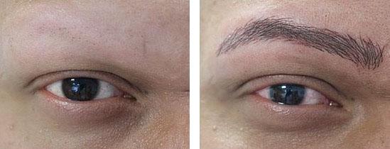 Dermopigmentation des sourcils